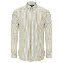 Buy JOHN LEWIS & Co. Vintage Multi Stripe Long Sleeve Shirt, Vintage White Online at johnlewis.com