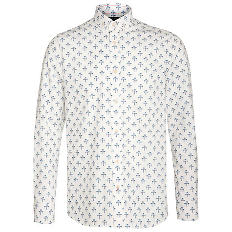 Buy JOHN LEWIS & Co. Fleur Archive Print Long Sleeve Shirt, Vintage White Online at johnlewis.com