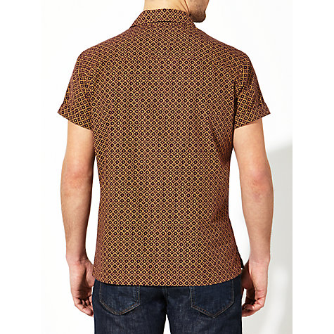 Buy JOHN LEWIS & Co. Geo Cross Print Short Sleeve Shirt Online at johnlewis.com