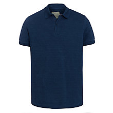 Buy JOHN LEWIS & Co. Pique Polo Short Sleeve T-Shirt, Indigo Online at johnlewis.com