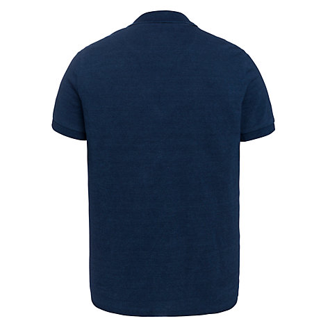 Buy JOHN LEWIS & Co. Pique Polo Shirt, Indigo Online at johnlewis.com