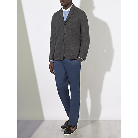 Buy JOHN LEWIS & Co. Harris Tweed Deconstructed Work Wear Blazer, Grey Online at johnlewis.com