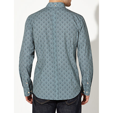 Buy JOHN LEWIS & Co. Morris Print Shirt, Stormy Sea Online at johnlewis.com