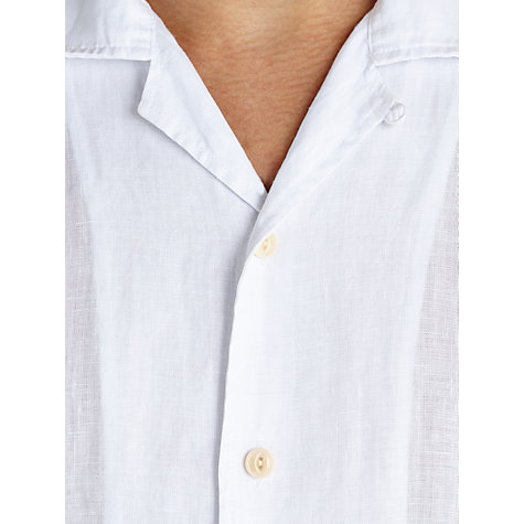 Buy JOHN LEWIS & Co. Linen Short Sleeve Shirt Online at johnlewis.com