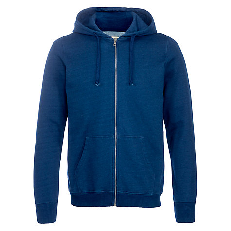 Buy JOHN LEWIS & Co. Full Zip Hoodie, Indigo Online at johnlewis.com
