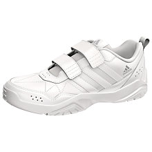 Buy Adidas LK Play Trainers, White Online at johnlewis.com