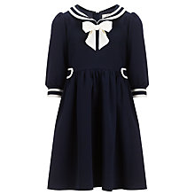 Buy Somerset by Alice Temperley Girls' Sailor Dress, Navy Online at johnlewis.com
