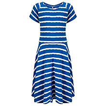 Buy Loved & Found Girls' Stripe Skater Dress, Cobalt Online at johnlewis.com