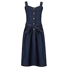 Buy Loved & Found Girls' Dark Denim Sundress, Navy Online at johnlewis.com