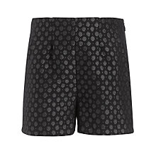 Buy Somerset by Alice Temperley Girls' Jacquard Shorts, Deep Navy Online at johnlewis.com