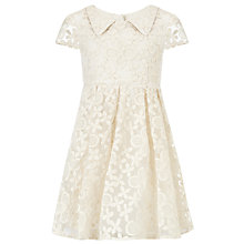 Buy Somerset by Alice Temperley Girls' Floral Lace Dress, Cream Online at johnlewis.com