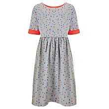 Buy Loved & Found Girls' Polka Dot T-Shirt Dress, Grey/Multi Online at johnlewis.com