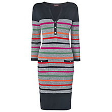 Buy Phase Eight Salt and Pepper Newark Dress, Multi Online at johnlewis.com