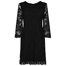 Buy Phase Eight Ebony Lace Dress, Black Online at johnlewis.com