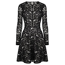 Buy Coast Staten Dress, Black Online at johnlewis.com