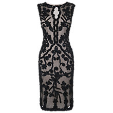 Buy Phase Eight Lanetta Tapework Dress, Black Online at johnlewis.com