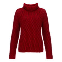Buy Jigsaw Chunky Moss Stitch Jumper Online at johnlewis.com