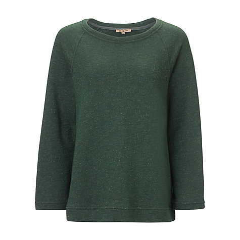 Buy Jigsaw Soft Sparkle Jersey Sweatshirt Online at johnlewis.com