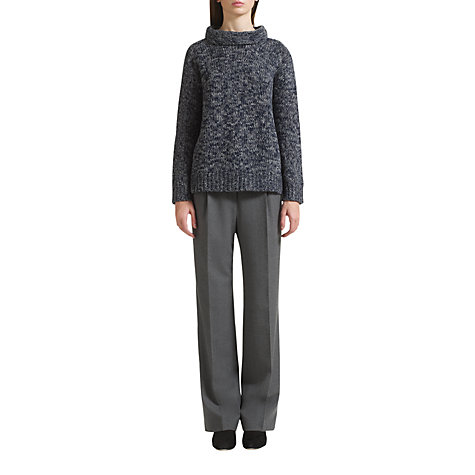 Buy Jigsaw Marl Boyfriend Sweater Online at johnlewis.com
