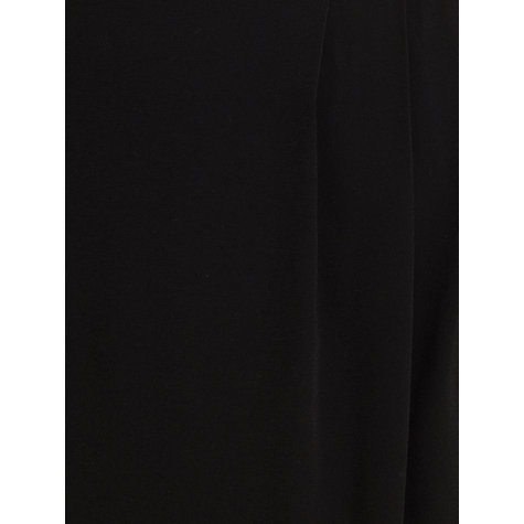 Buy Jigsaw Luxurious Wrap Skirt, Black Online at johnlewis.com