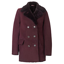 Buy Jigsaw Sheepskin Car Coat Online at johnlewis.com