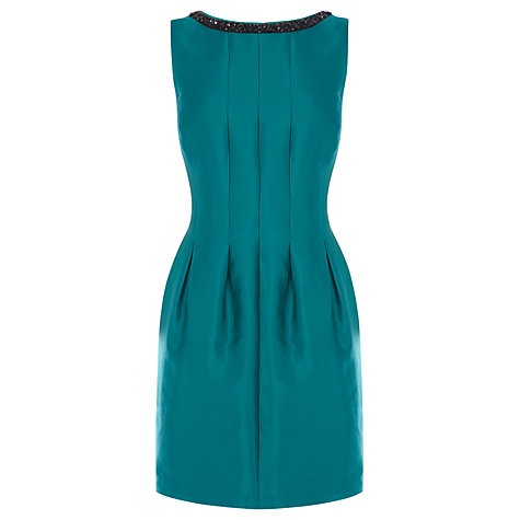 Buy Coast Matilda Embellished Dress, Jade Online at johnlewis.com