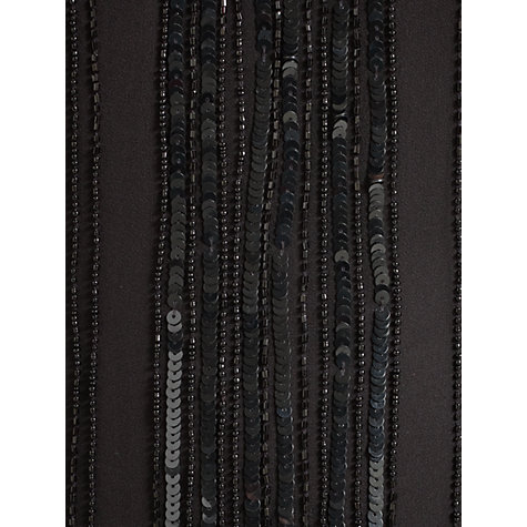 Buy Jigsaw Bead Maxi Dress, Black Online at johnlewis.com