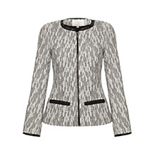 Buy allegra by Allegra Hicks Riley Jacket, Grey Jacquard Online at johnlewis.com