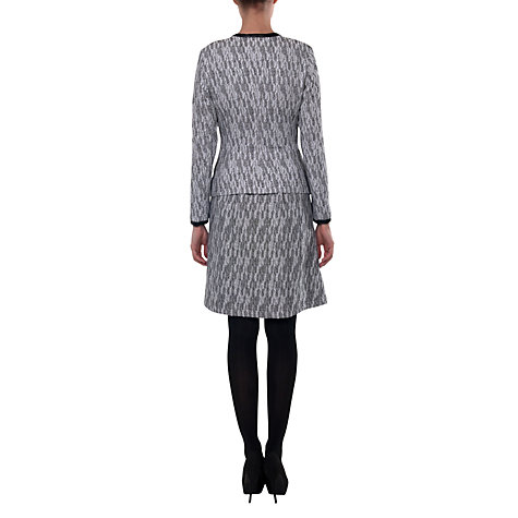 Buy allegra by Allegra Hicks Jacquard Riley Jacket, Grey Jacquard Online at johnlewis.com