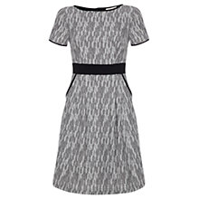 Buy allegra by Allegra Hicks Jacquard MacKenzie Dress, Grey Online at johnlewis.com