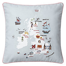 Buy John Lewis British Isles Cushion Online at johnlewis.com