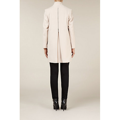 Buy Kaliko Zip Back Coat, Natural Online at johnlewis.com