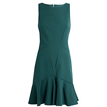 Buy Almari Panel Flared Hem Dress, Teal Online at johnlewis.com