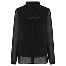 Buy Coast Columbia Blouse, Black Online at johnlewis.com