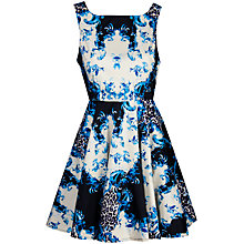 Buy True Decadence Plain Jane Prom Dress, Blue Print Online at johnlewis.com