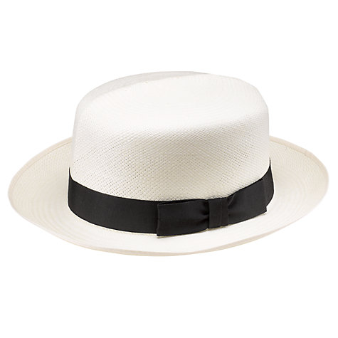 Buy Olney Folding Panama Hat, Natural Online at johnlewis.com