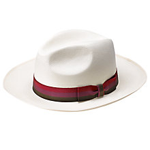 Buy Olney Sienna Brisa Panama Hat Online at johnlewis.com