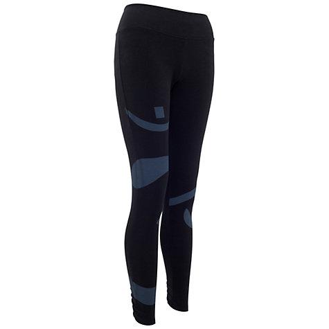 Buy Manuka Yoga Leggings, Black/Grey Online at johnlewis.com