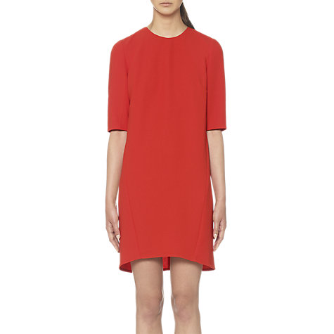 Buy Whistles Sculptured Dress, Red Online at johnlewis.com