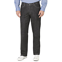 Buy John Lewis Stretch Denim Jeans, Black Online at johnlewis.com
