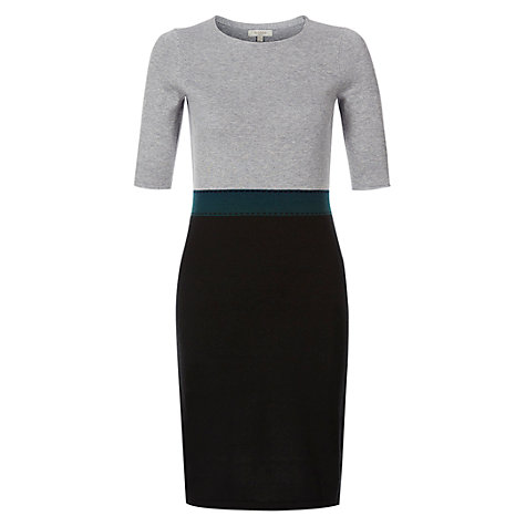 Buy Hobbs Molden Dress, Loch Green Multi Online at johnlewis.com