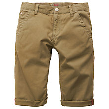 Buy Levi's Boys' Irvin Bermuda Shorts, Khaki Online at johnlewis.com
