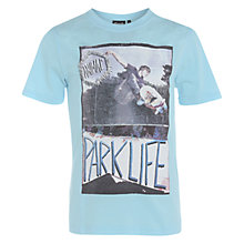 Buy Animal Boys' Parklife Skateboarder T-Shirt, Pale Blue Online at johnlewis.com