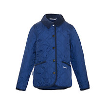 Buy Barbour Boys' Quilted Jacket Online at johnlewis.com