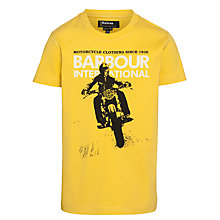 Buy Barbour International Boys' Lynton T-Shirt Online at johnlewis.com