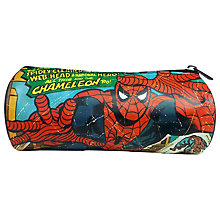 Buy Spider-Man Pencil Case, Blue/Red Online at johnlewis.com