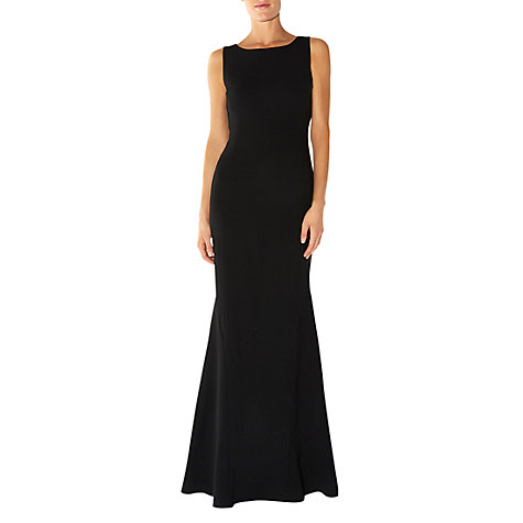 Buy Hobbs Invitation Alberta Dress, Black Online at johnlewis.com