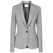 Buy Reiss Tomley Arc Tailored Jacket, Mid Grey Online at johnlewis.com