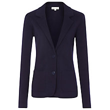 Buy Reiss Ted Knitted Jacket, Navy Online at johnlewis.com