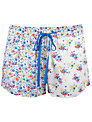 Cyberjammies Rebecca Print Shorts, White/ Blue
